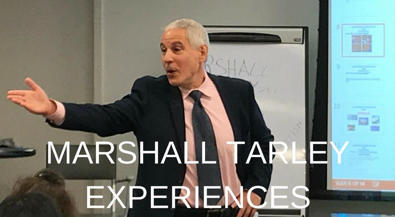Marshall Tarley Experiences